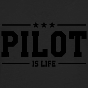 Pilot is life Tee shirts - T-shirt manches longues Premium Homme