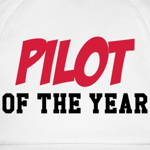 Pilot of the year T-shirts - Baseballcap