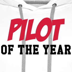 Pilot of the year T-shirts - Mannen Premium hoodie