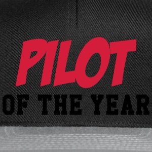 Pilot of the year Tee shirts - Casquette snapback