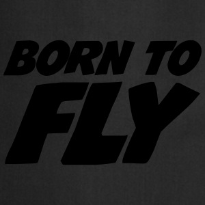 Born to fly [Pilot] T-shirts - Förkläde