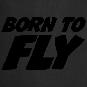 Born to fly [Pilot] Sweaters - Keukenschort