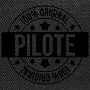 Pilote Tee shirts - Casquette snapback