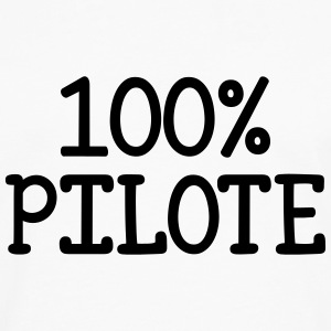 100% Pilote Tee shirts - T-shirt manches longues Premium Homme