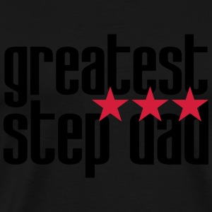 greatest Step Dad Kookschorten - Mannen Premium T-shirt