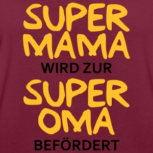 Super Mama - Oma Pullover & Hoodies - Frauen Oversize T-Shirt