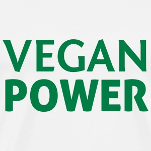 Vegan Power Sports wear - Men's Premium T-Shirt