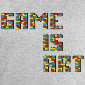 Game is art - Sweat-shirt Homme Stanley & Stella
