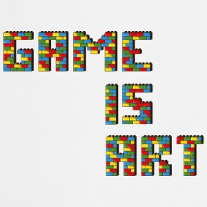 Game is art - Tablier de cuisine