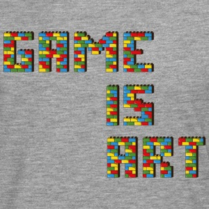 Game is art - T-shirt manches longues Premium Homme