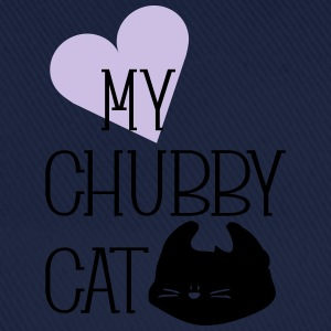 Love my chubby cat typo Teenage Premium T-Shirt - Baseball Cap