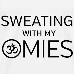 Sweating With My Omies Toppe - Herre premium T-shirt