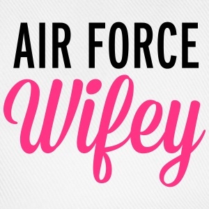 Air Force Wifey  T-shirts - Basebollkeps
