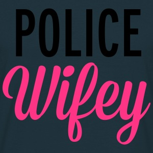 Police Wifey  Sweat-shirts - T-shirt Homme