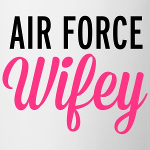 Air Force Wifey  Tröjor - Mugg