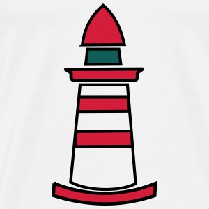 Lighthouse - Männer Premium T-Shirt