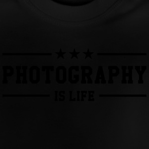 Photography is life Camisetas - Camiseta bebé
