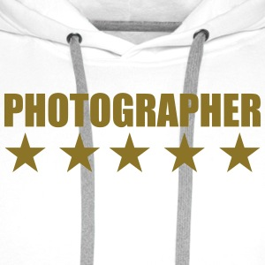 Photographer Shirts - Men's Premium Hoodie