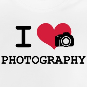 I Love Photography Camisetas - Camiseta bebé