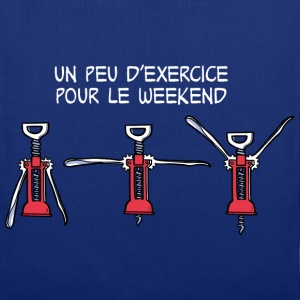 Exercice pour le weekend T-shirts - Tas van stof