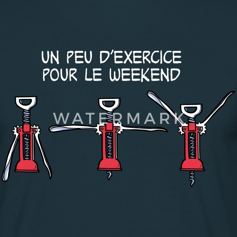 Exercice pour le weekend Tee shirts - T-shirt Homme