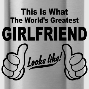 Worlds Greatest Girlfriend Looks Like  Hoodies & Sweatshirts - Water Bottle