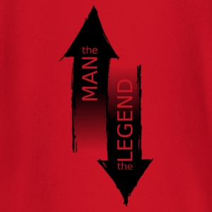 The Man - The Legend - T-shirt manches longues Bébé