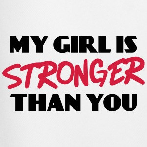 My girl is stronger than you T-shirts - Mannen voetbal shorts