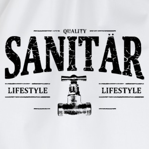 Sanitär T-Shirts - Turnbeutel