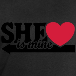 She is mine I love you Valentine's Day T-Shirts - Men's Sweatshirt by Stanley & Stella