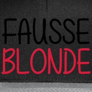 Fausse Blonde Tee shirts - Casquette snapback