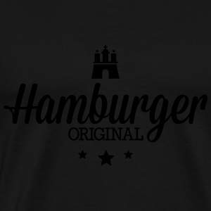 Hamburger original Tops - Männer Premium T-Shirt