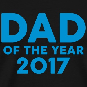 Dad of the Year 2017 Forklær - Premium T-skjorte for menn