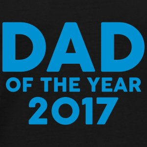 Dad of the Year 2017 Mokken & toebehoor - Mannen Premium T-shirt