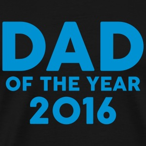Dad of the Year 2016 Forklær - Premium T-skjorte for menn
