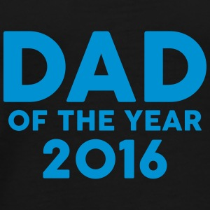 Dad of the Year 2016 Mokken & toebehoor - Mannen Premium T-shirt