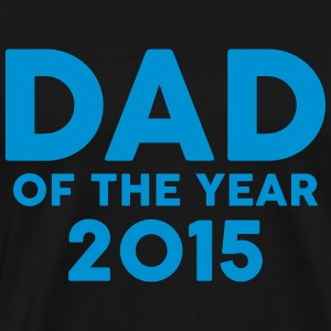 Dad of the Year 2015 Forklær - Premium T-skjorte for menn