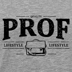 Prof Long Sleeve Shirts - Men's Premium T-Shirt
