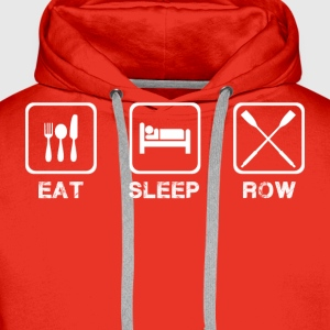 Eat Sleep Row - Men's Premium Hoodie
