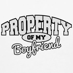 Property of my boyfriend Underwear - Men's Premium T-Shirt