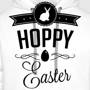 Hoppy easter T-Shirts - Men's Premium Hoodie