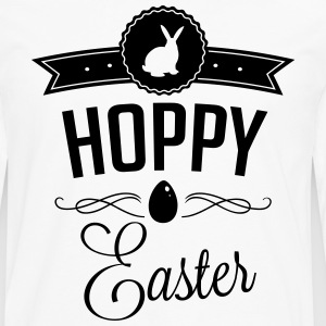 Hoppy easter Tee shirts - T-shirt manches longues Premium Homme