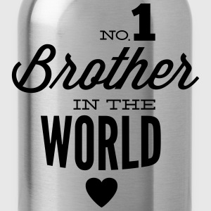 no1 brother of the world Shirts - Drinkfles