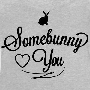 Somebunny loves you Långärmade T-shirts - Baby-T-shirt