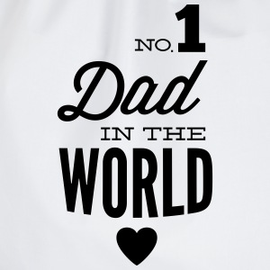 no1 dad of the world Sweatshirts - Sportstaske