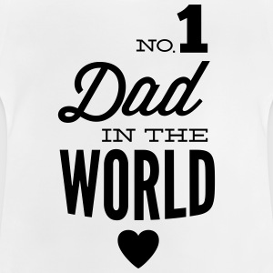 no1 dad of the world Hoodies - Baby T-Shirt