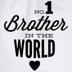 no1 brother of the world Camisetas - Mochila saco