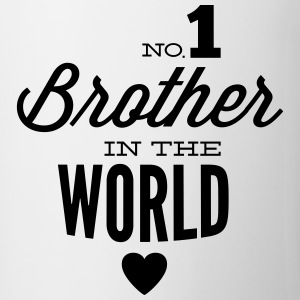 no1 brother of the world Camisetas - Taza