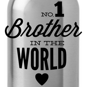 no1 brother of the world Shirts met lange mouwen - Drinkfles