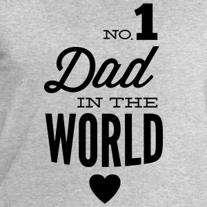 no1 dad of the world Maglietta a maniche lunghe - Felpa da uomo di Stanley & Stella